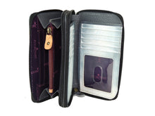 Load image into Gallery viewer, Twin Zip Organizer Wallet - 1125