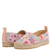 Load image into Gallery viewer, ANIKA PRINTED LEATHER ESPADRILLE LOAFER - 4204