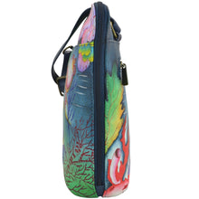 Load image into Gallery viewer, Organizer Crossbody With Extended Side Zipper - 493