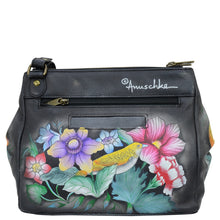 Load image into Gallery viewer, Triple Compartment Medium Crossbody With Adjustable Strap - 525
