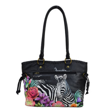 Load image into Gallery viewer, Double Handle Large Tote With Magnetic Closure - 569