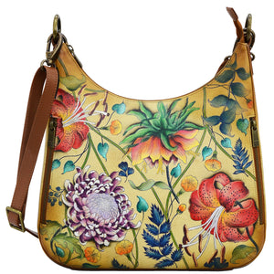 Convertible Slim Hobo With Crossbody Strap - 662