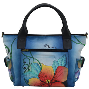 Large Tote With Side Pocket - 8271