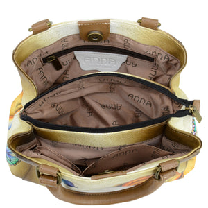 Small Multi compartment Satchel - 8325