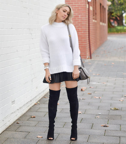 Laurit Thigh High Boot