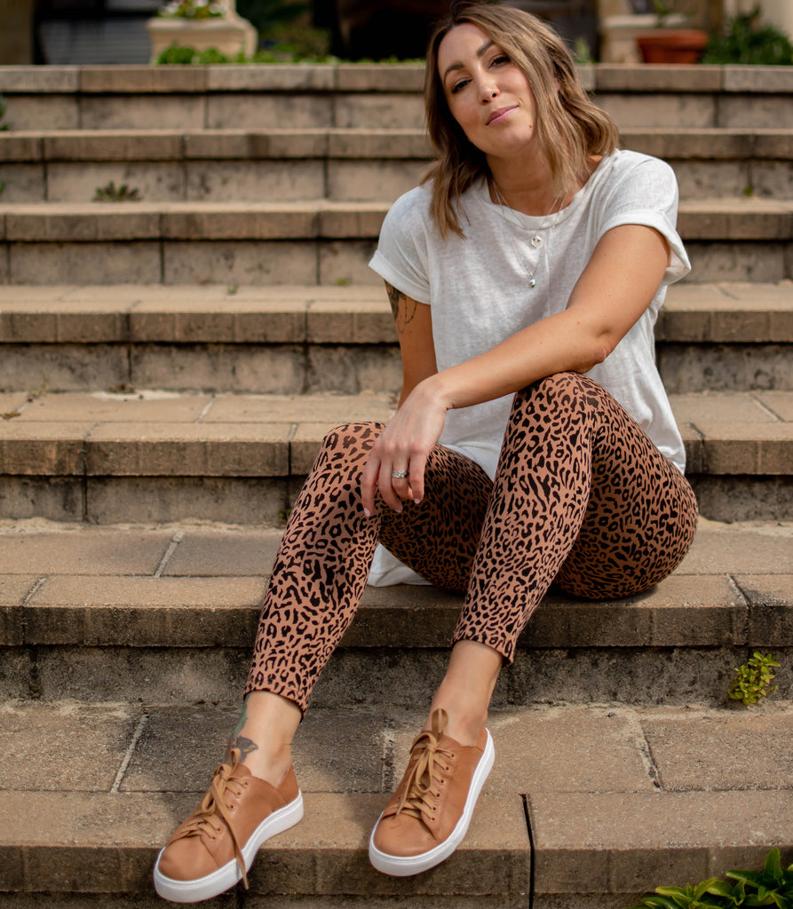 Morgan Leopard Print Leggings