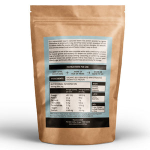 Best Organic Brown Rice Protein Powder - Sprouted Brown Rice Protein