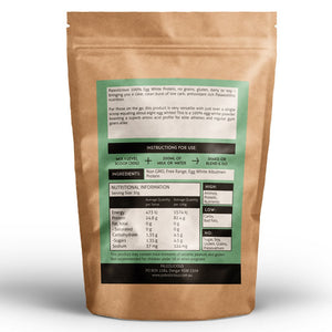 Natural Flavoured Paleo Egg White Protein Powder Online - Fitness Food
