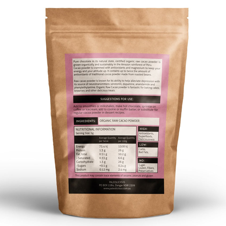 BUNDLE - Best Egg White Protein Powder & Raw Cacao Powder Online