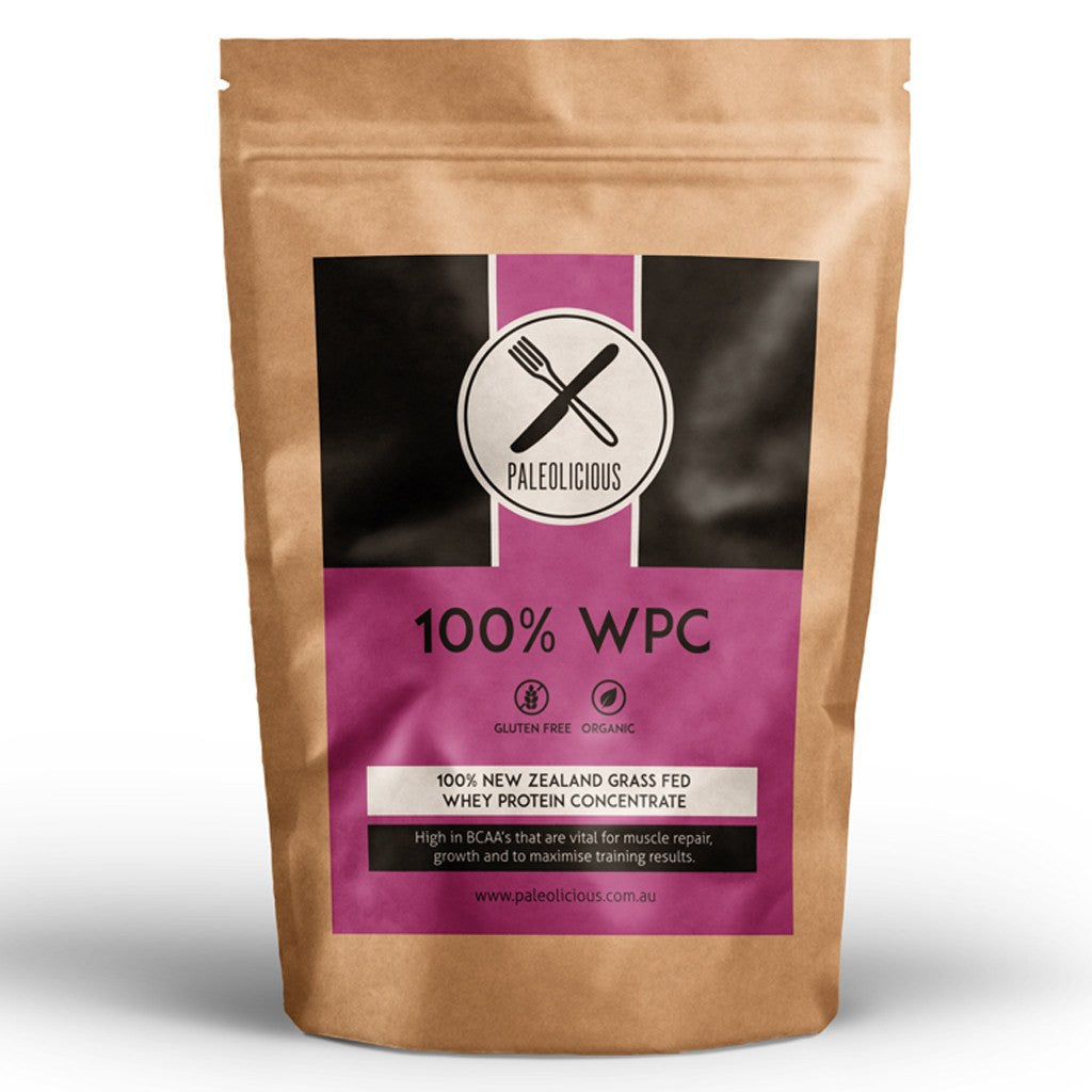 100% WPC - Whey Protein Concentrate - Paleolicious