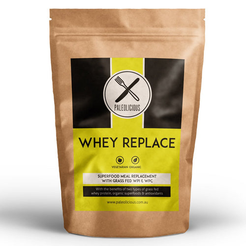 Whey Replace - Organic Meal Replacement Shakes With WPI & WPC 2019