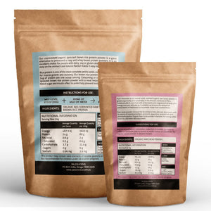 BUNDLE - BROWN RICE PROTEIN PLUS ORGANIC RAW CACAO - Paleolicious