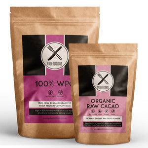 BUNDLE - 100% WPC PLUS ORGANIC RAW CACAO - Paleolicious