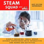 STEAM SQUAD: 12/11/2020 Prep-Yr2 Rockets (Forces in Action & Kitchen Chemistry) Thursday November 12, 4pm - 5pm