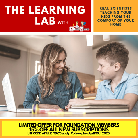 The Learning Lab - ACARA Science Lessons for teachers and students. Suitable for prep to year 10. $30/MONTH