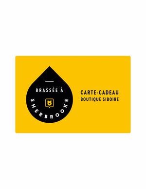 Carte-cadeau mobile – boutique