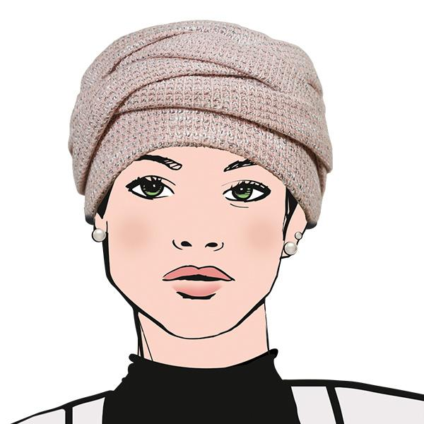 Turban Everest Turbans Aderans ROSE