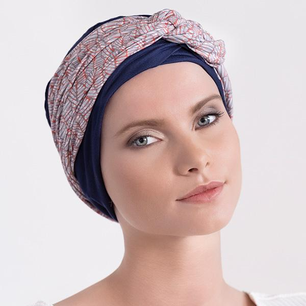 Bandeau-Mississippi Turbans Aderans TURQUOISE
