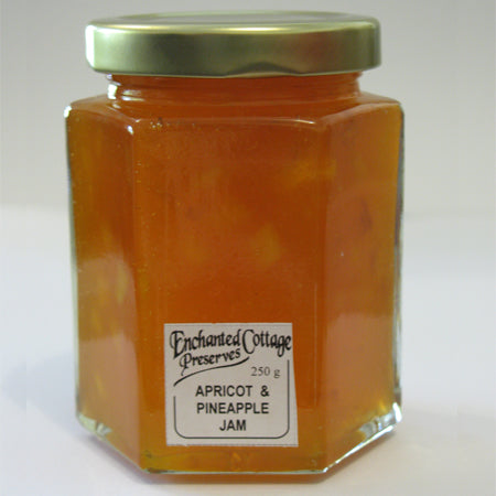 Enchanted Cottage Preserves Apricot & Pineapple Jam 250g