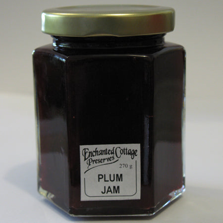 Enchanted Cottage Preserves Plum Jam 270g