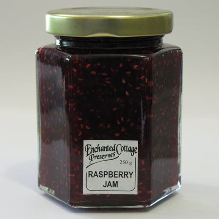 Enchanted Cottage Preserves Raspberry Jam 250g