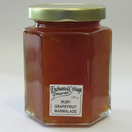 Enchanted Cottage Preserves Ruby Grapefruit Marmalade 240g