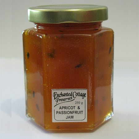 Enchanted Cottage Preserves Apricot & Passionfruit Jam 250g