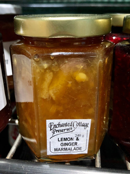 Enchanted Cottage Preserves Lemon Marmalade 240g