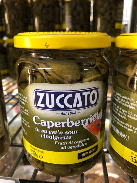 Zuccato Caperberries in sweet'n sour vinaigrette 330