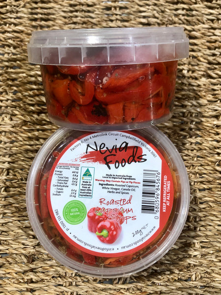 Nevia Foods Roasted Capsicum Strips 200g