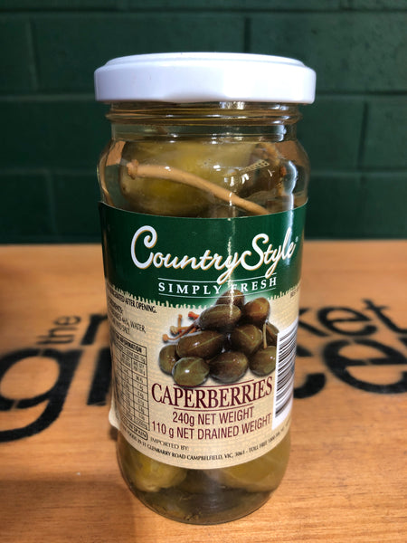 Country Style Caperberries 240g