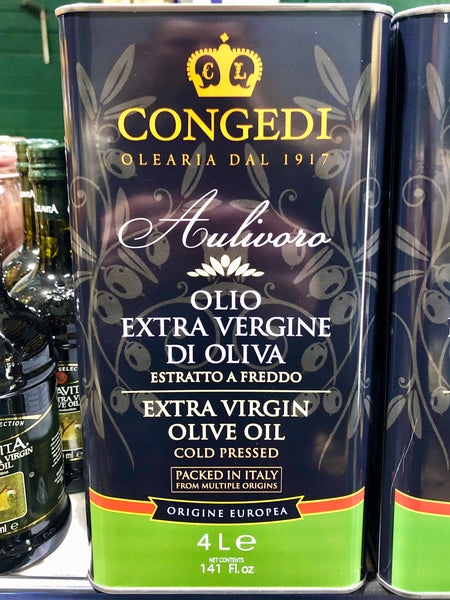 Colavita Extra Virgin Olive Oil - Cold Pressed 4L