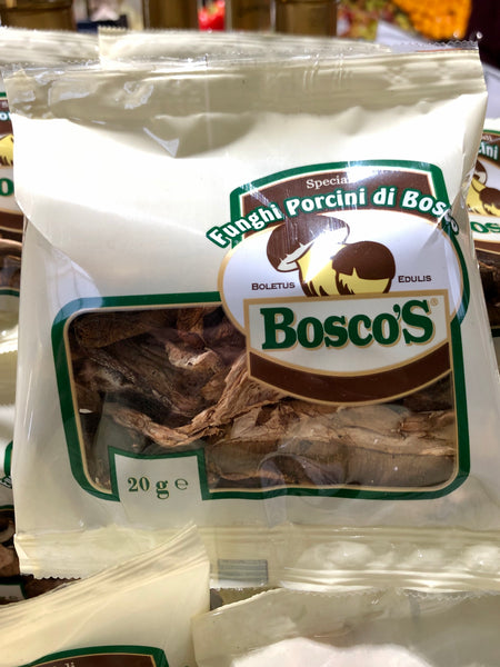 Bosco's Dried Porcini Mushrooms 20g