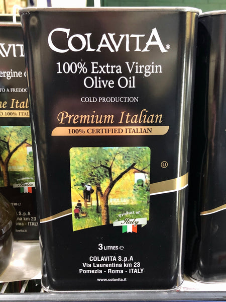 Colavita 100% Extra Virgin Olive Oil - Cold Production 3L
