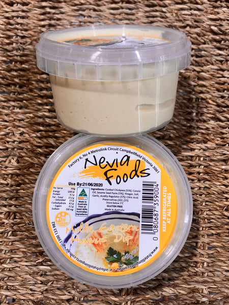 Nevia Foods Middle Eastern Hummus Dip 200g