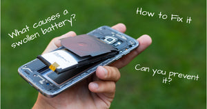 Samsung Galaxy Phone's with Swollen Battery | what causes a swollen battery and how to fix it