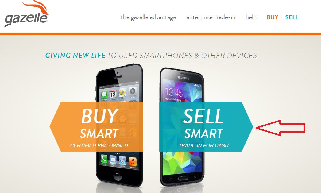 Sell Smart Trade-In for Cash