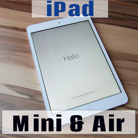 ipad mini and air