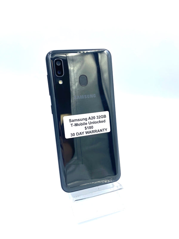 Samsung A20 32GB T-Mobile Unlocked