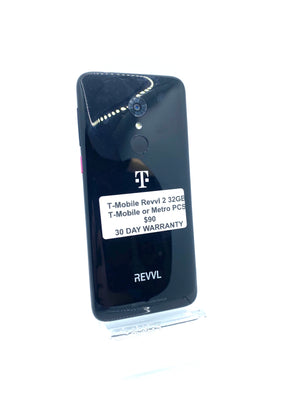 T-Mobile Revvl 2 32GB Black 5.5 inch