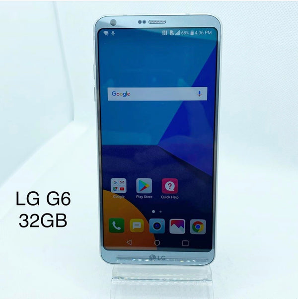 LG G6 32GB Silver for T-Moible and Metro
