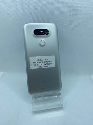 LG G5 32GB Silver T-mobile or Metro pcs