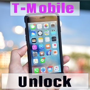 IPHONE 7/7 Plus, 8/8 Plus T-Mobile Carrier Unlock