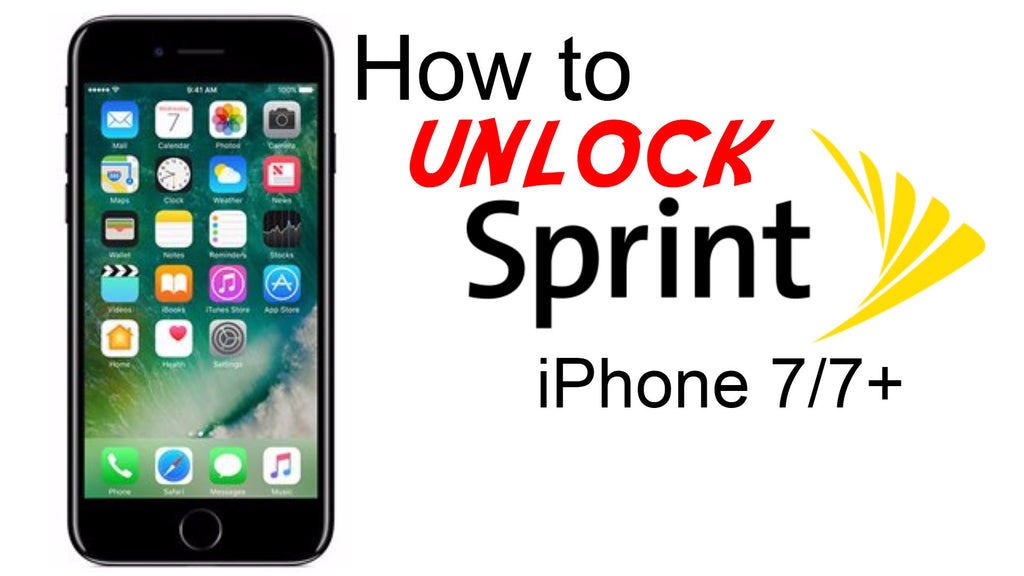SPRINT FACTORY UNLOCK SERVICE iPHONE 7 PLUS 6S 6 5S ALL IMEI