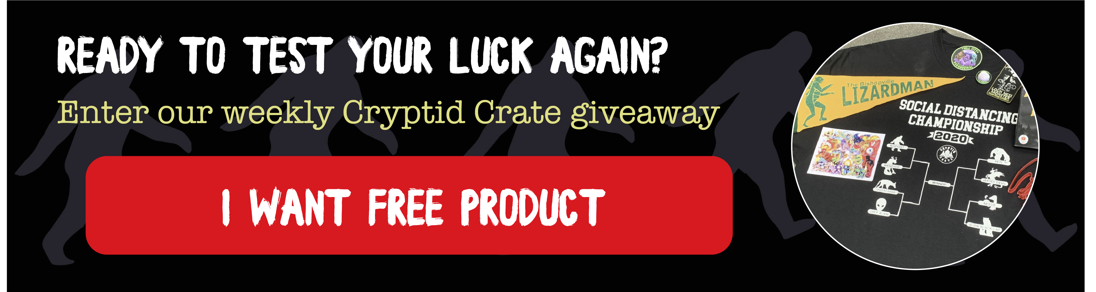 Enter the Cryptid Crate giveaway