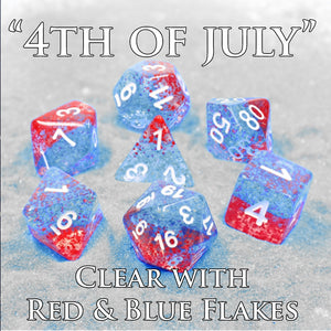 PAST   Monthly Featured Dice Set FREE Shipping