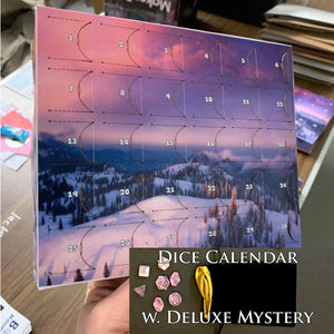 Pips Mountain - Monthly Dice Calendar