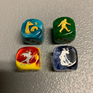 PIPTIDS Set #1 - Cryptid Dice