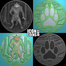 Load image into Gallery viewer, Dog Man Collectible Coin