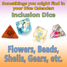 Load image into Gallery viewer, Pips Mountain - Monthly Dice Calendar